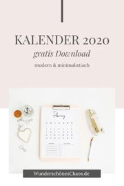 Kalender 2020 – gratis Download