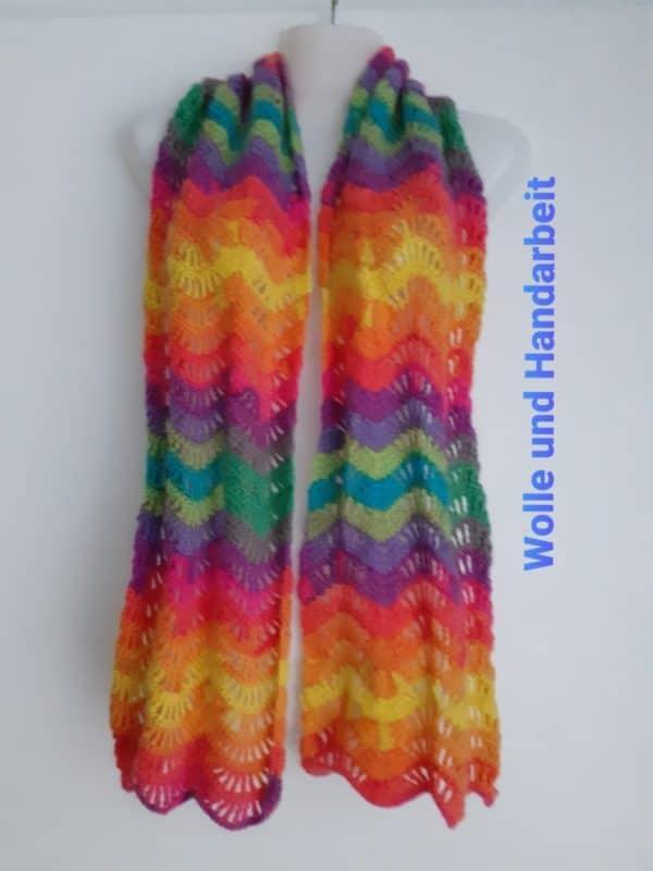 Regenbogen Schal