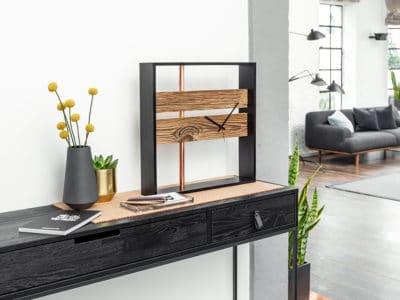 Designuhr aus Holz bauen