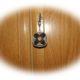 Schlüsselanhänger basteln mit Stoffresten in Artischockentechnick , einfach
