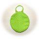 Runde Tasche nähen, innen gleich versäubert , gerade Wendeöffnung, einfacher geht es nicht