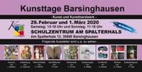 Kunsttage Barsinghausen - Der Kunsthandwerkermarkt