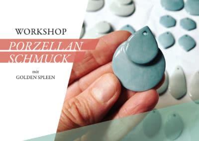 Workshop: Porzellanschmuck (mittwochs)