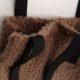 Tasche aus Teddystoff – Nähanleitung mit Schnittmuster