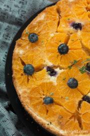 Mandarinenkuchen mit ganzen Früchten – upside down