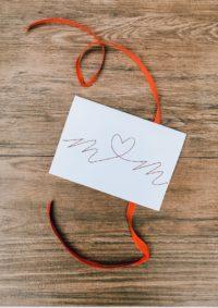 Stitch my Love – Bestickte Karte