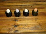 UPCYCLING-Anleitung für Eierbecher aus Glas