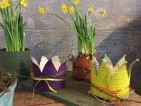 Kronen basteln für das Frühjahr/ Ostern
