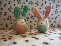 Süßes DIY Osterhasen Ei häkeln