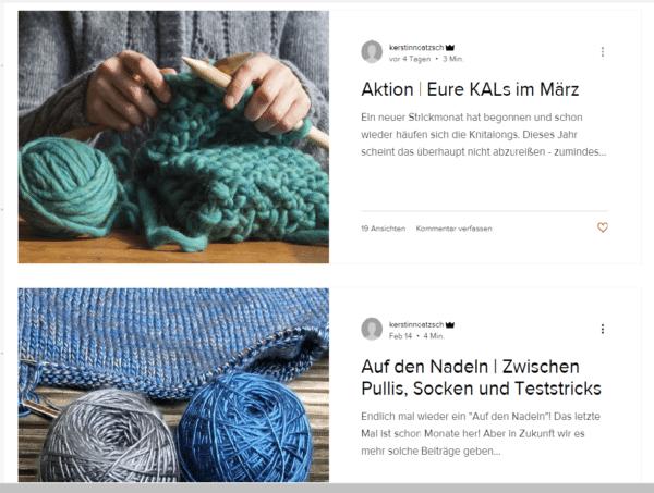 Liebste Wolle Blog