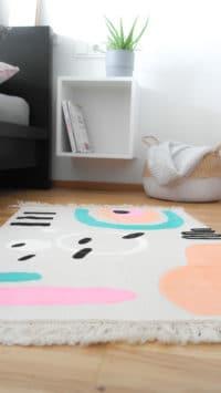 Kinderzimmer DIY | gestalte dir deinen Teppich