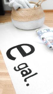 Teppich bemalen mit den PINTOR Markern (Ikea Hack)