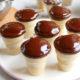 Kuchen im Waffelbecher - Kleine Minimuffins