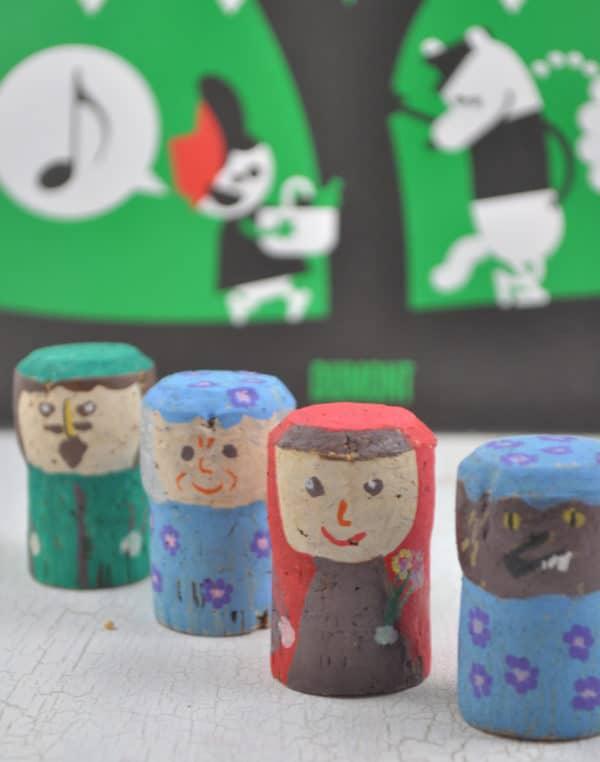Märchenfiguren aus Korken basteln
