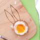 Osterhasen-Frühstücksbrett