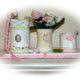 Upcycling mit Blechdosen , Bastelidee, Utensilo für den Schreibtisch