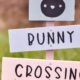 "DIY Gartenschild ""Bunny Crossing"""