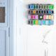 Kinderbeschäftigung gegen Langeweile -Anstecker aus  Schrumpffolie