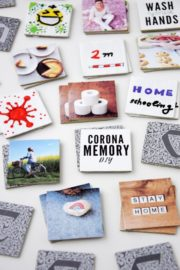Corona MEMORY Spiel selbst gestalten