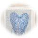 DIY : Herzbild , Geschenkidee zum Muttertag , Hochzeit, Stoffresteverwertung