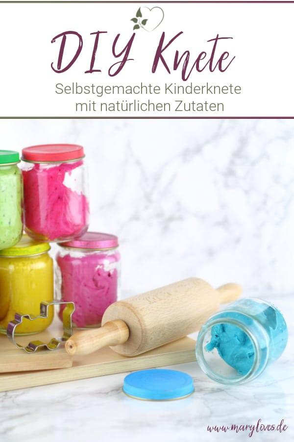 DIY Kinderknete – Ungiftige Knete selber machen