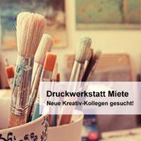 Druckwerkstatt mieten Bremen/Oldenburg