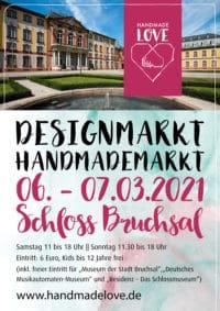 """Handmademarkt """"Handmade Love"""" im Schloss Bruchsal – Kultur meets Design"""
