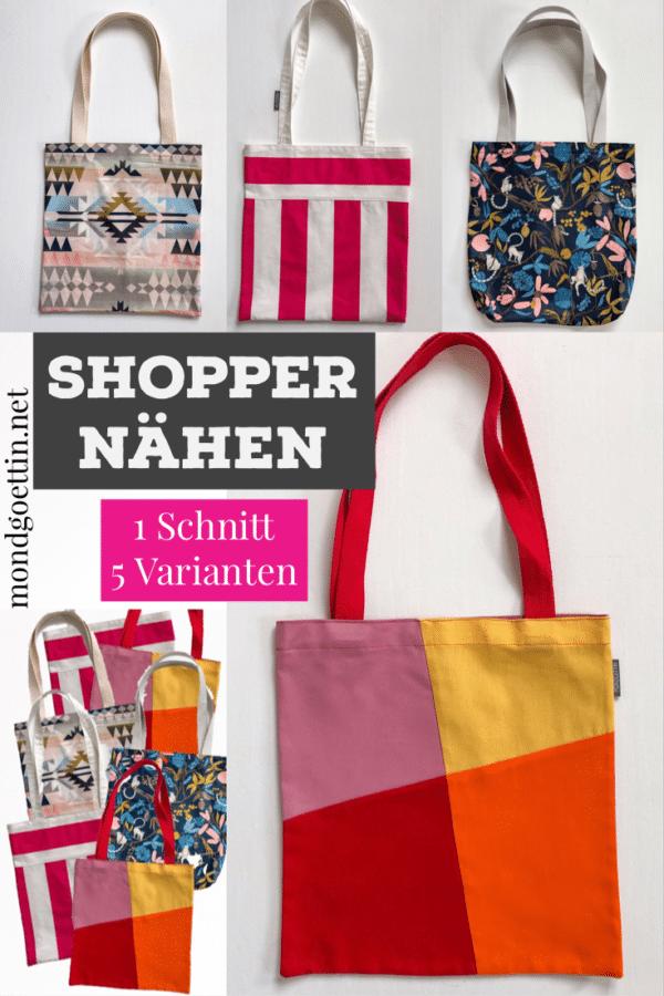 Shopper - 1 Schnitt 5 Varianten