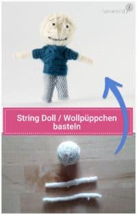 String Doll/Wollpüppchen basteln (ohne Nähen!)