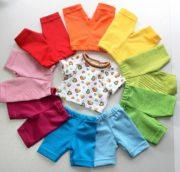 Regenbogen-Set für Baby Born Puppen