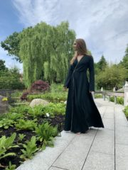 Ein Kleid aus Seide und Sternen - Kostenloses Schnittmuster