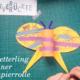 Schmetterling aus Klorolle | Basteln mit Kleinkindern