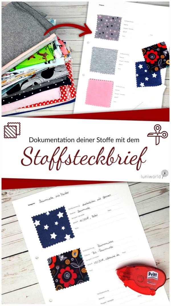 Kostenloser Download: Stoff-Steckbrief