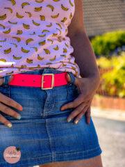DIY-Gürtel ohne Nähen