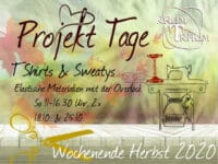 Nähkurs Projekt TShirts & Sweatys  2x So  11 bis 16.30 Uhr September