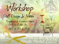 Nähkurs Workshop Stoff Design Flower Power & Crashkurs Nähen 3x Fr Abends 19 - 21.00 Uhr