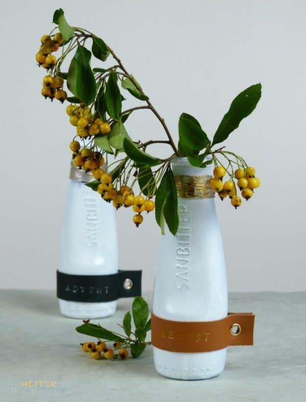 Vase mit Wechselmanschette