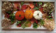 Gefilzte Herbstdekoration