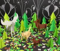 Weihnachtlicher Zauberwald
