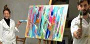 Malen für Paare- Malen zu Zweit