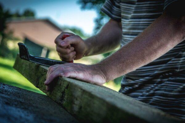 Grundausstattung für Holzarbeiten