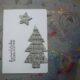 Weihnachtskarten mit alten Buchseiten basteln