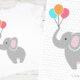 Süße Elefanten als Plotterdatei (mehrfarbig)