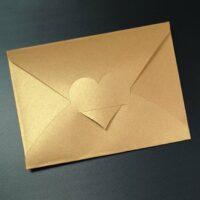 Briefumschlag mit Herz 💕