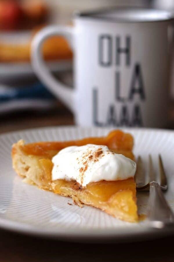Oh la la! Apfel Tarte Tatin aus der Pfanne - einfach und fix!