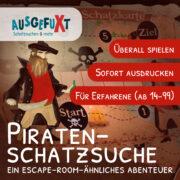 """Piraten-Schatzsuche """"für Große"""""""