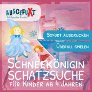 """Schneekönigin-Schatzsuche """"Die Schneeflockensuche"""""""