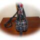 Runde Tasche nähen ,mit Innenfach, rund cross bodybag Upcycling Nähidee