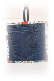 Wohin mit der Rückseite / Gesäßbereich von alten Jeans ? Näh daraus Topfhandschuhe / Topflappen !