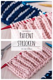 Klassisches Patent stricken